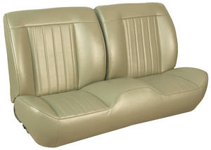 1968 Chevelle Sport Seats Front Bench Upholstery and Foam W/Convertible Rear Upholstery Only