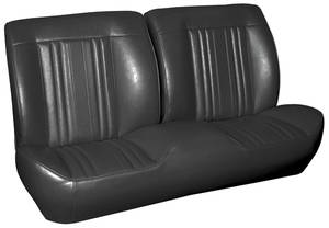 1969 Chevelle Sport Seats Front Bench Upholstery and Foam W/Convertible Rear Upholstery Only