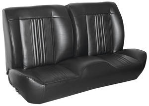 1970 Chevelle Sport Seats Front Bench Upholstery and Foam W/Convertible Rear Upholstery Only
