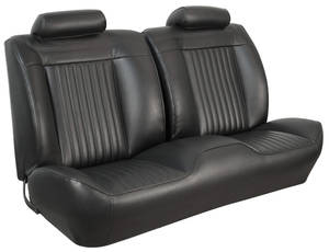 1971-72 Chevelle Sport Seats Front Bench Upholstery and Foam W/Convertible Rear Upholstery Only