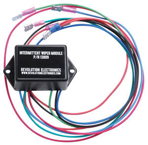 1962-1977 Grand Prix Intermittent Wiper Speed Module, by Revolution Electronics