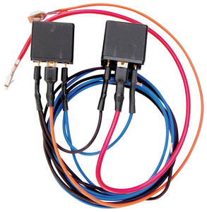 1964-77 Chevelle Headlight Auto-Off Relay Kit, by Revolution Electronics