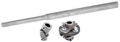 "1969-1972 Grand Prix Steering Column Installation Kit Power 13/16""-36 Rag Joint, by ididit"