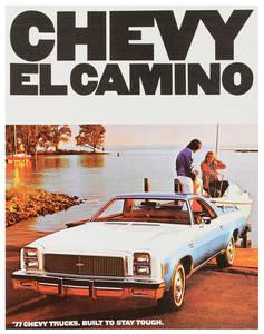 1977 El Camino Color Sales Brochures