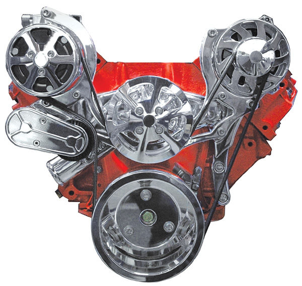 """Photo of Pulley System, """"S-Drive"""" Big-Block w/AC, w/o power steering"""