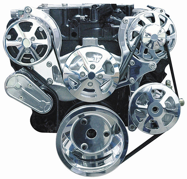 """Photo of Pulley System, """"S-Drive"""" Small-Block w/AC, w/power steering"""