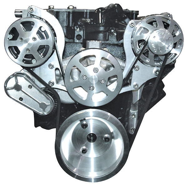 """Photo of Pulley System, """"S-Drive"""" Small-Block w/AC, w/o power steering"""