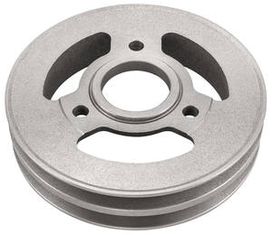 1965-1967 El Camino Pulley, Big-Block Deep Groove Crankshaft, 2-Groove, SHP