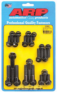 1969-1975 Catalina Transmission Case Bolts, Muncie 4-Speed Black Oxide Hex Head, by ARP