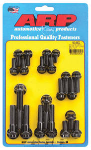 1969-1975 Chevelle Transmission Case Bolts, Muncie 4-Speed Black Oxide 12-Pt. Head, by ARP