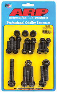 1964-1968 Chevelle Transmission Case Bolts, Muncie 4-Speed Black Oxide Hex Head, by ARP