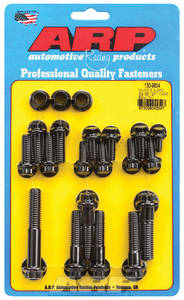 1963-68 GTO Transmission Case Bolts, Muncie 4-Speed Black Oxide 12-Pt. Head, by ARP