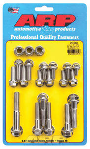 1964-68 El Camino Transmission Case Bolts, Muncie 4-Speed Stainless Steel Hex Head, by ARP