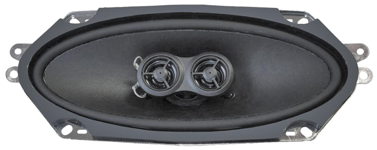 "Photo of Dash Speaker, Replacement 4"" X 10"" Dual Voice Coil (160 Watts - With Mono Radio) - Monte Carlo (Standard)"