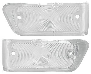 Park Lamp Lens, 1967 Chevelle & El Camino Clear, by TRIM PARTS