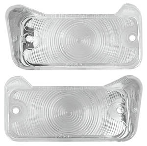 1968-1968 Chevelle Park Lamp Lens, 1968 Chevelle & El Camino Clear, by TRIM PARTS