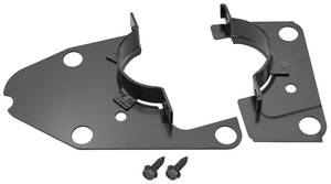 1964-67 LeMans Steering Column Clamp Plates, Lower Automatic