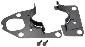 1964-67 Tempest Steering Column Clamp Plates, Lower Manual