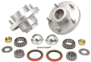 1964-72 Chevelle Roller Bearing Hub Kit, by CPP