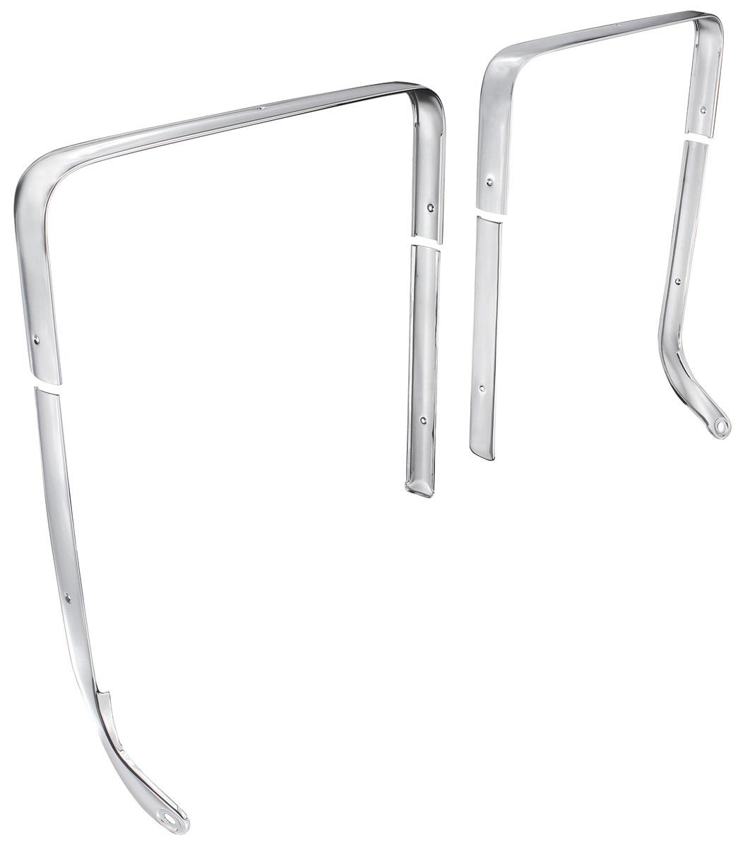 Photo of Bucket Seat Chrome Trim straight inner