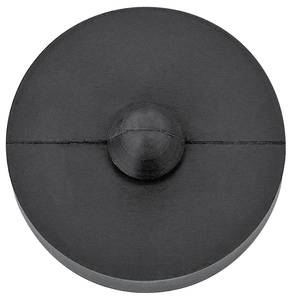 Hardware, Window Door Window rubber bump stop, 2-dr., lower (req. 2 per door)