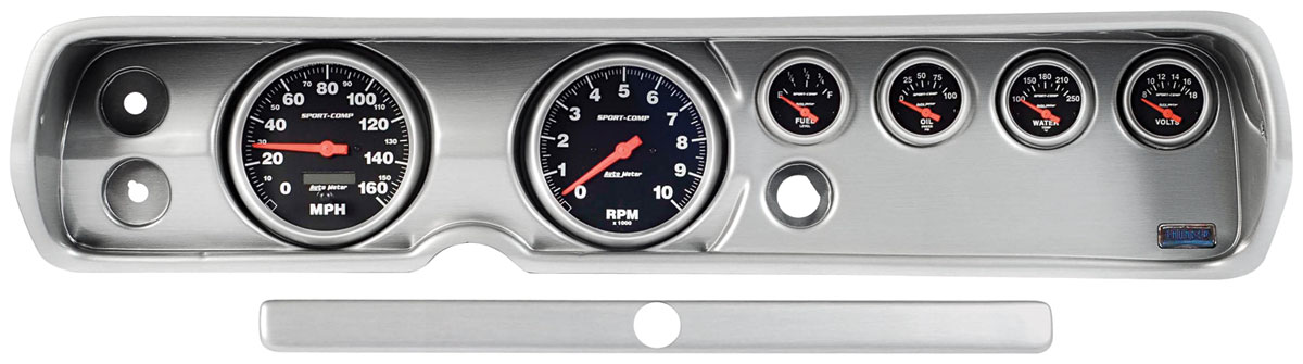 "Photo of Dash Conversion, Classic Thunder Road Concourse Black 5"" standard"