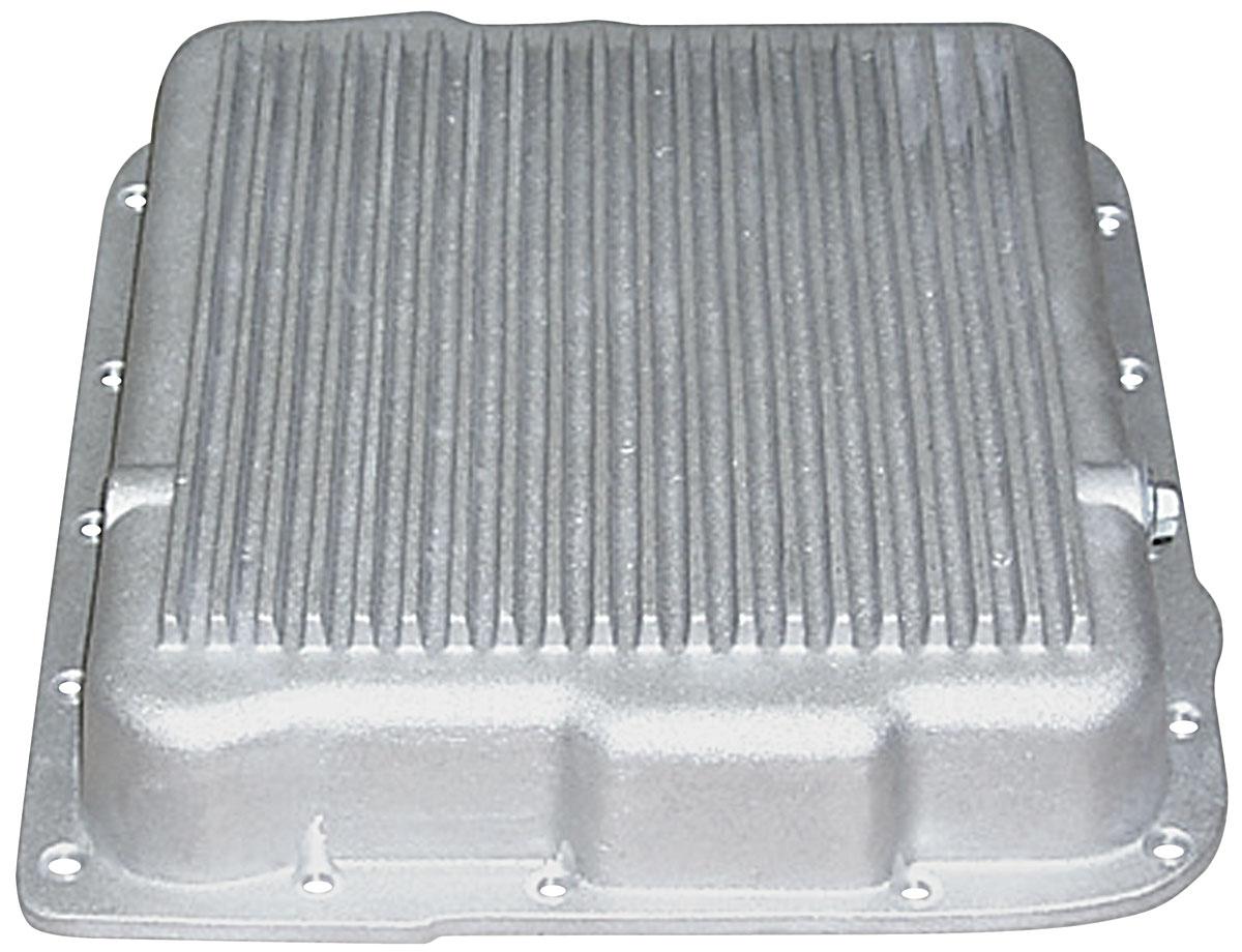Photo of Transmission Pan (Cast Aluminum) 700r4, 4l60, 4l60e, 4l65e low profile