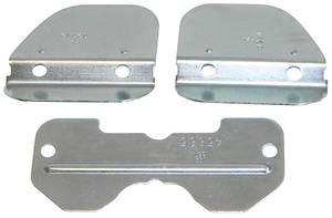1964-77 Bonneville Quadrajet Accessories Flaps, 3-Piece