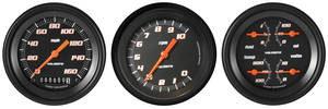 Chevelle Gauge Conversion Kit, 1964-65 160 Mph Speedometer / 10,000 Rpm Tachometer Velocity