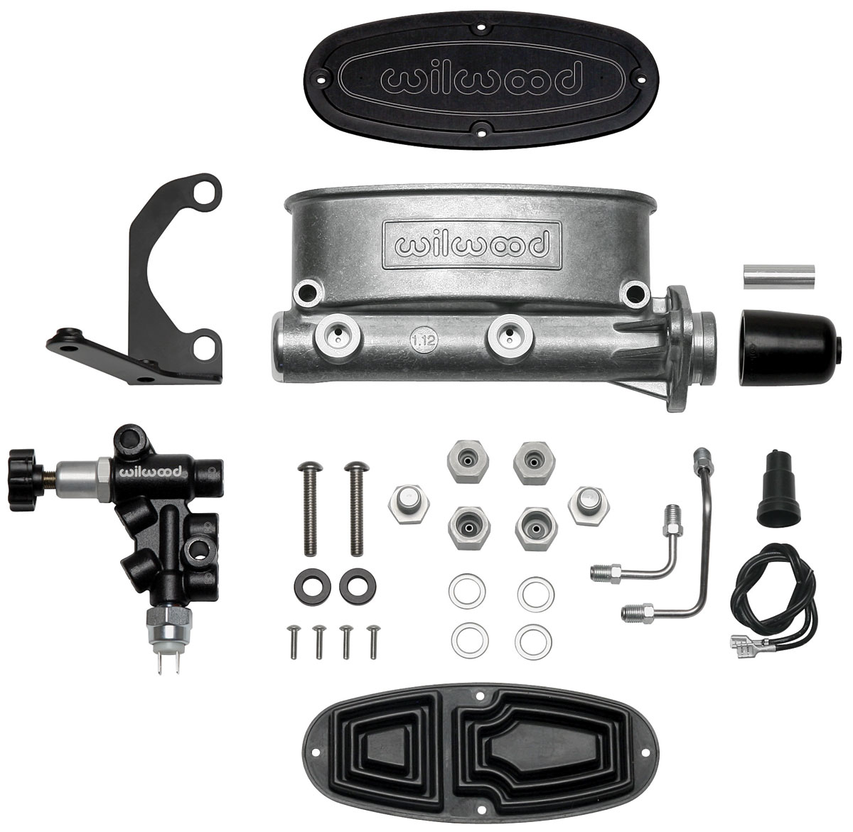 "Photo of Master Cylinder Kit, Aluminum Tandem 1-1/8"" Bore"