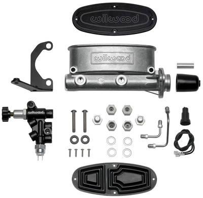 "1959-1977 Bonneville Master Cylinder Kit, Aluminum Tandem 1-1/8"" Bore"