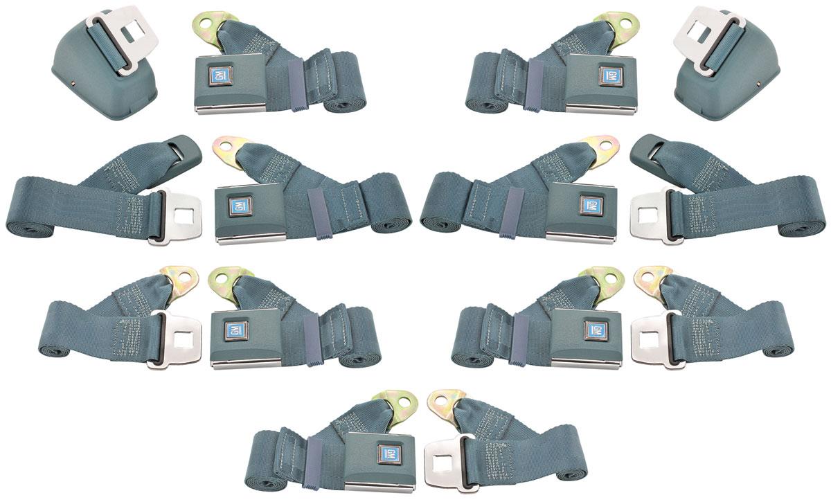 Photo of Seat Belt Direct Fit - Oe Style (Front Retractable Lap/Non-Retractable Shoulder/3 Rear Lap)