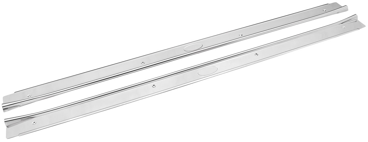 Photo of Skylark Step Plates, Stainless Steel 2-dr., w/o ribs