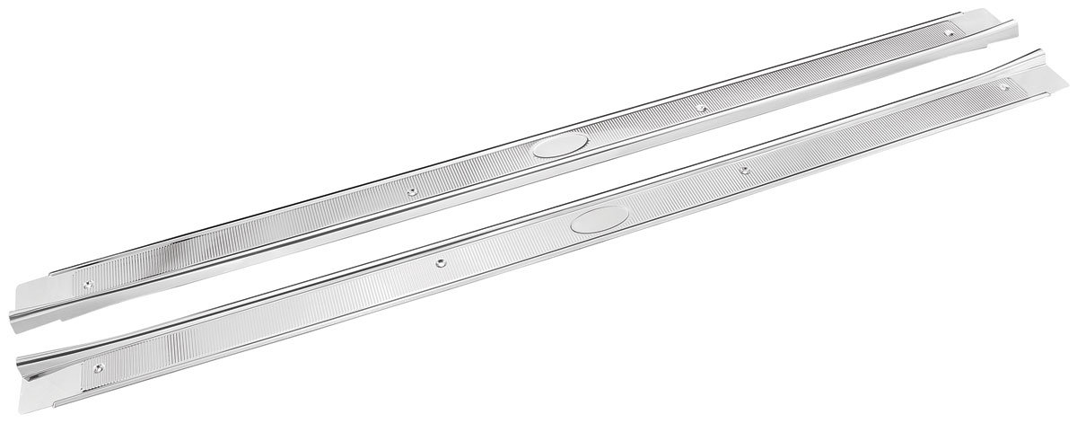 Photo of Skylark Step Plates, Stainless Steel 2-dr., w/ribs