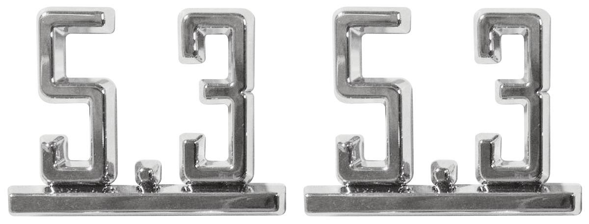1965-67 Chevelle Emblems, LS Engine Conversion 5.3 @ OPGI.com