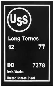 1977 Bonneville Fuel Tank Stencil