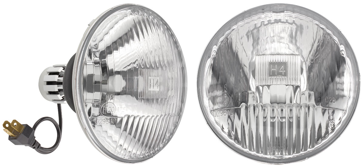 Photo of Headlights, LED Bonneville & Catalina high/low, 5-3/4""