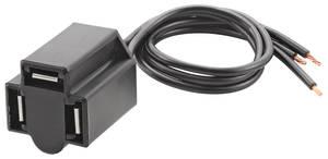 1959-1976 Bonneville Headlight Plug Repair Harness Bonn/Cat., 3-Prong