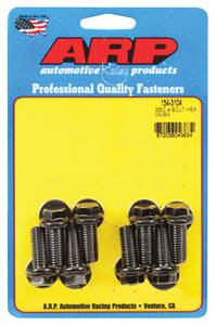 1978-1988 Monte Carlo Motor Mount Bolts (High-Performance) Ls, 8-Pcs. Hex Head - Black Oxide