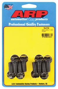 Motor Mount Bolts (High-Performance) Ls, 8-Pcs. hex head - black oxide