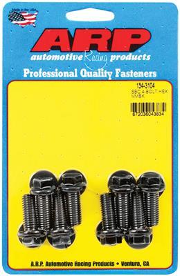 1978-1988 Monte Carlo Motor Mount Bolts (High-Performance) Ls, 8-Pcs. 12-Point Head - Black Oxide