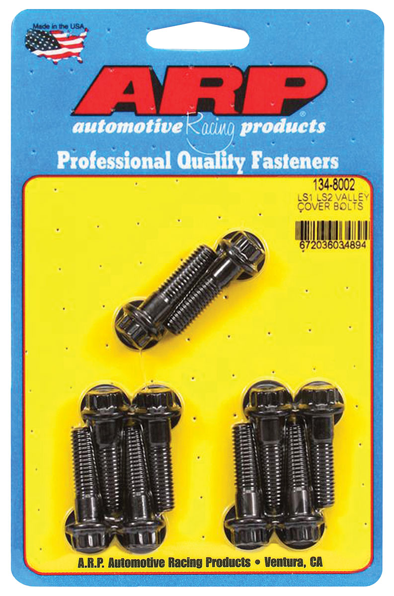 Photo of Valley Pan Bolts 12-Point Head LS, black oxide