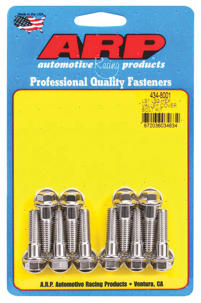 Photo of Valley Pan Bolts Hex Head LS, stainless steel
