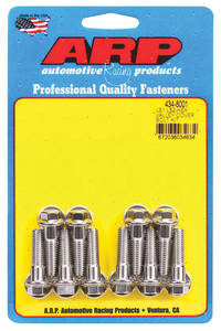1959-77 Bonneville Valley Pan Bolts Hex Head LS, Stainless Steel