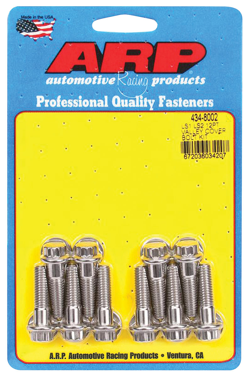 Photo of Valley Pan Bolts 12-Point Head LS, stainless steel