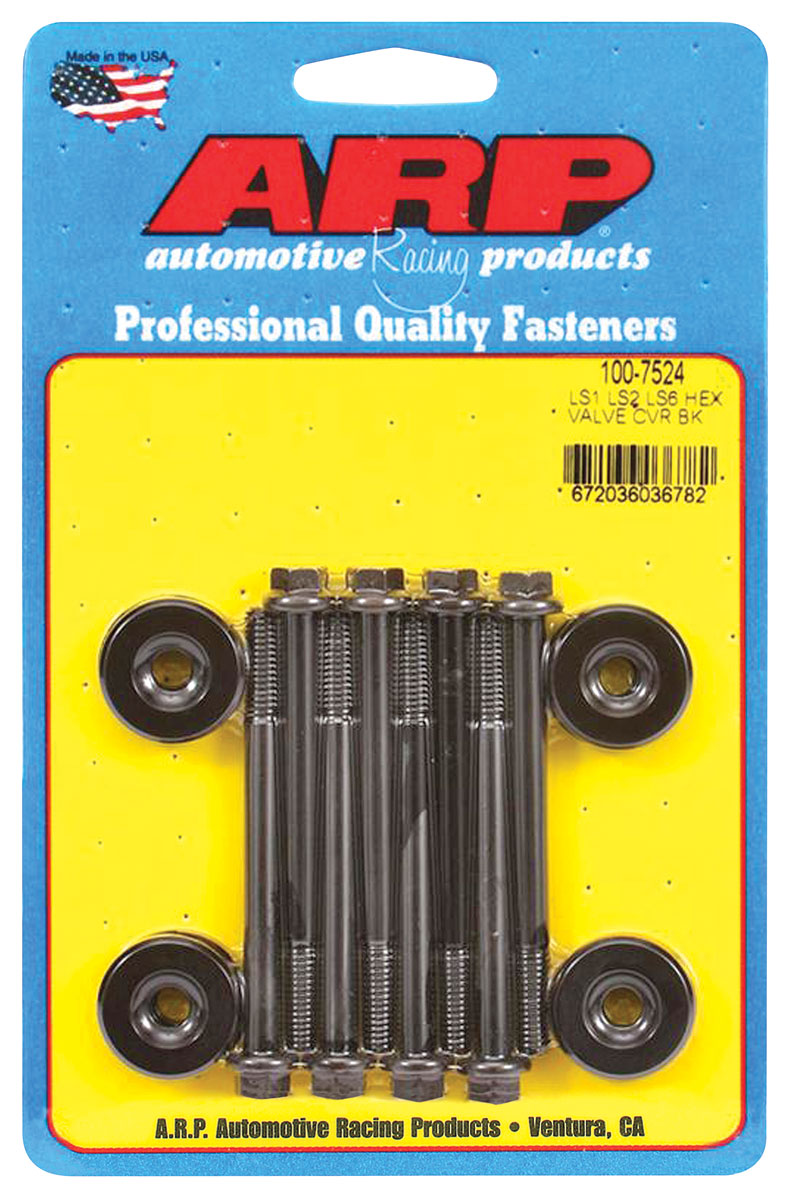 Photo of Valve Cover Bolts (ARP) Ls All Valve Covers hex head - black