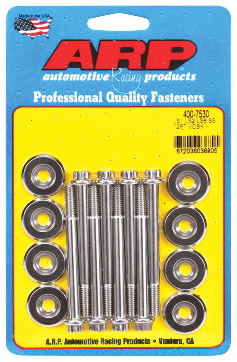 Photo of Valve Cover Bolts, LS Engine 12-pt. head - stainless