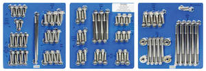 1959-1977 Bonneville Engine Fastener Kit, High-Performance Ls 12-Point Head - Stainless Steel