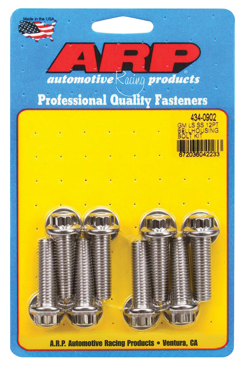Photo of Bellhousing Bolt Stainless Steel LS, 12-point
