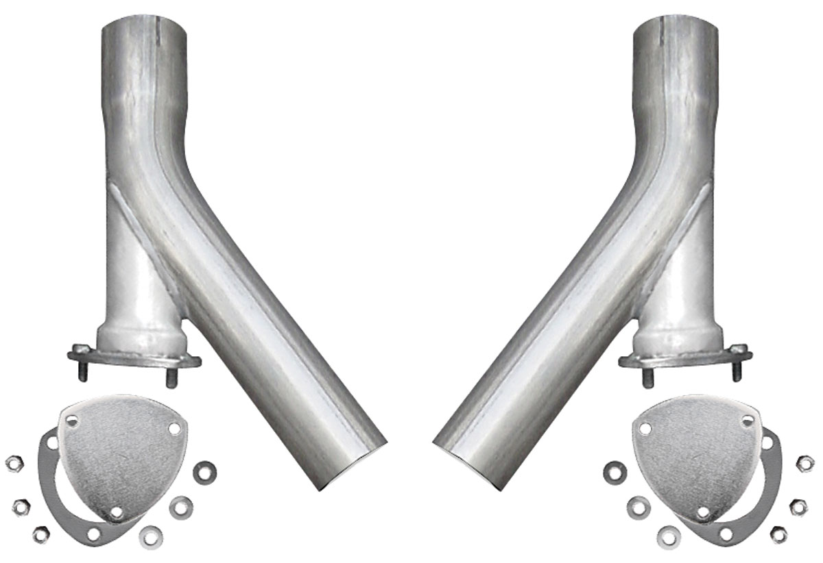 "Photo of Dump Extensions, X-Pipe Exhaust 3"" dump legs"
